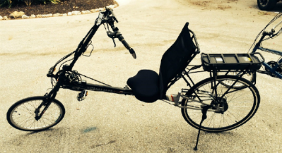 Sarasota electric recumbent bike