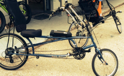 Sarasota electric recumbent bike conversion