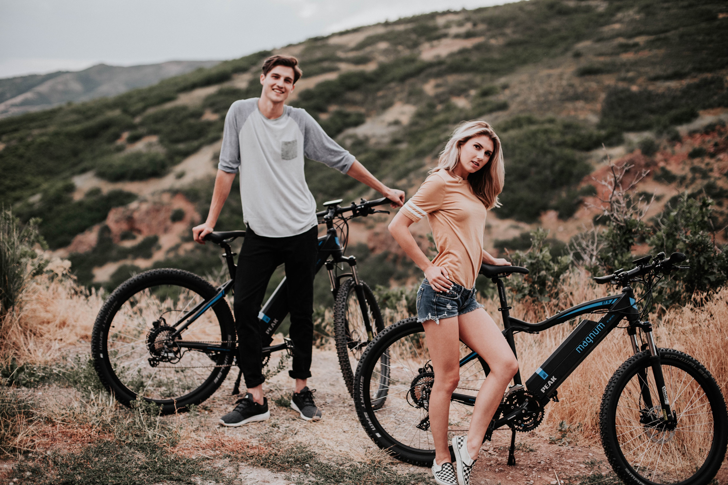 Magnum bikes for couples